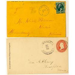 Corvallis, Ravalli Postal Covers