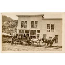 Corwin Hot Springs Real Photo Postcard (RPC)