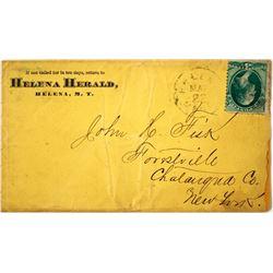 Helena Herald Territorial Cover