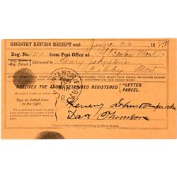 Kibbey, Judith Basin Postal Card