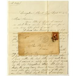 Livingston, Park Territorial Cover and Letter