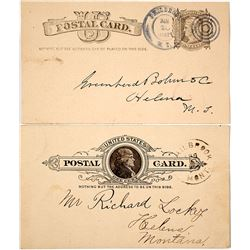 Philbrook, Judith Basin Territorial Postal Cards