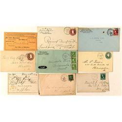 Philipsburg, Granite Postal History Collection