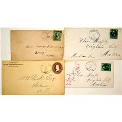 Four Wickes, Jefferson Territorial Covers