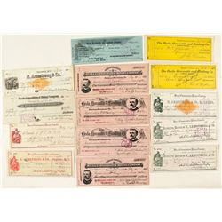 Hecla Consolidated Mining Company Check Collection (incl. RN) (Ghost Town)