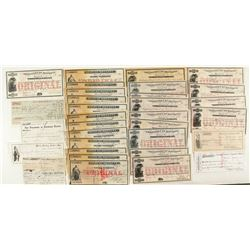 Montana Territorial Check & Warrant Collection