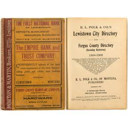 Lewistown 1908 Directory