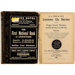 Lewistown 1910-11 Directory