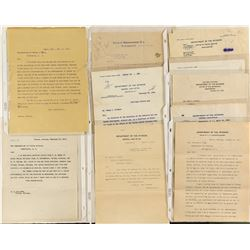 Interesting Set of Letters Pertaining to Fort Peck