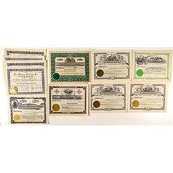Montana Hardware & Mercantile Stock Certificates