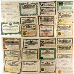 Montana Banking, Milling & Mining Stock Certificates