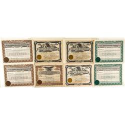 Montana Brewing Company Stock Certificates
