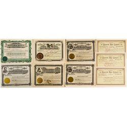 Montana Food Company Stock Certificates