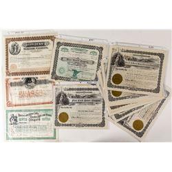 Montana Power Company Stock Certificates