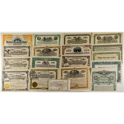 Montana Copper Mining Stock Certificates & Bonds