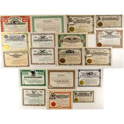 Montana Mines Stock Certificates