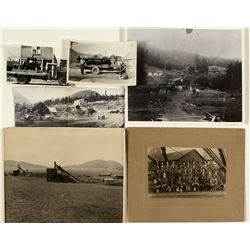 Two Albums of Montana Photographs