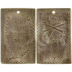 Montana Vigilante Silver Medallion