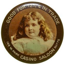 Casino Saloon Advertising Mirror (Butte, Montana)