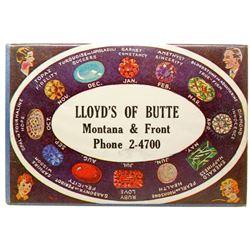 Lloyd's of Butte Advertising Mirror (Butte, Montana)