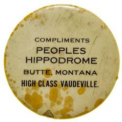 Peoples Hippodrome (Butte, Montana)