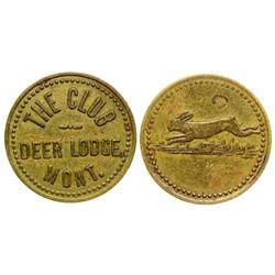 The Club Token (pictorial) (Deer Lodge, Montana)