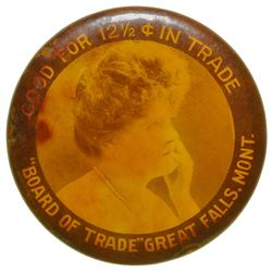 Board of Trade Advertising Mirror (Great Falls, Montana)