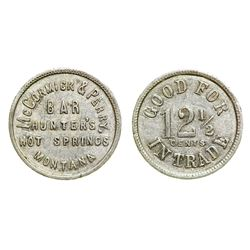 McCormick & Perry Token (Hunters Hot Springs, Montana)
