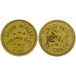 Frank McKeen Token (Virginia City, Montana)