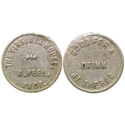 The Virginia House Token (Virginia City, Montana)