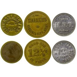 Virginia City Token Trio (Virginia City, Montana)