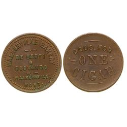 Walkerville Bakery Token (Walkerville, Montana)