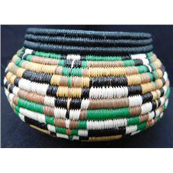 Fine Polychrome Basket