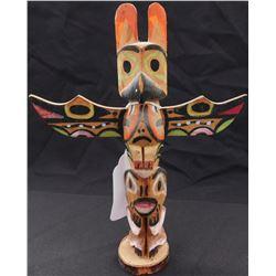 Small Northwest Coast Totem