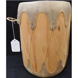 Cochiti Wood & Hide Drum