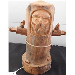 Wood Santo w/Birds