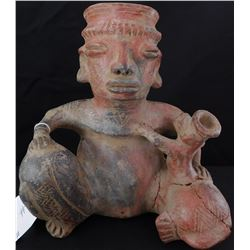 Pre-Columbian Jar, Mother & Child