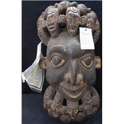 Large Wooden African Mask