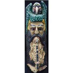 Triple Effigy Mythical Festival Mask