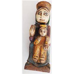 Wood Madonna Santo