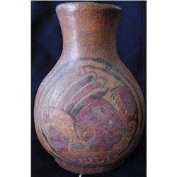Painted Mayan Olla