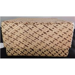 Polynesian Basketry Box