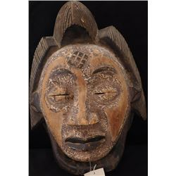 Large African Punu Wood Mask