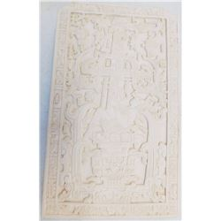 Mayan-Style Stone Plaque