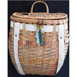 Basketry Fishing Creel