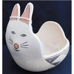 Hopi Pottery Rabbit Bowl