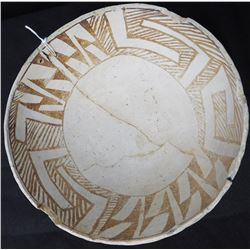 Anasazi Black on White Bowl