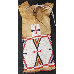 Antique Plains Beaded Bag