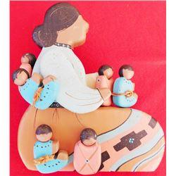 Navajo Folk Art Storyteller