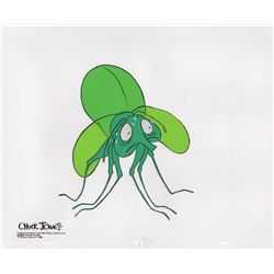 Original production cel of John The Firefly from Yankee Doodle Cricket (Chuck Jones, 1975)